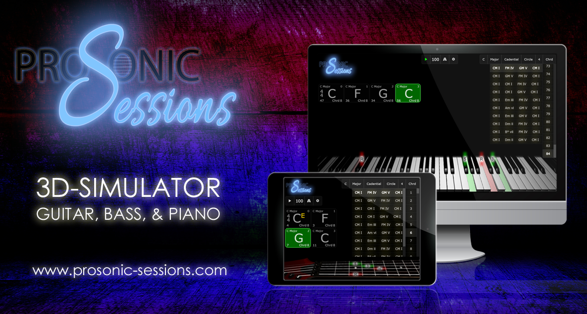 Sessions Piano Chord Progressions